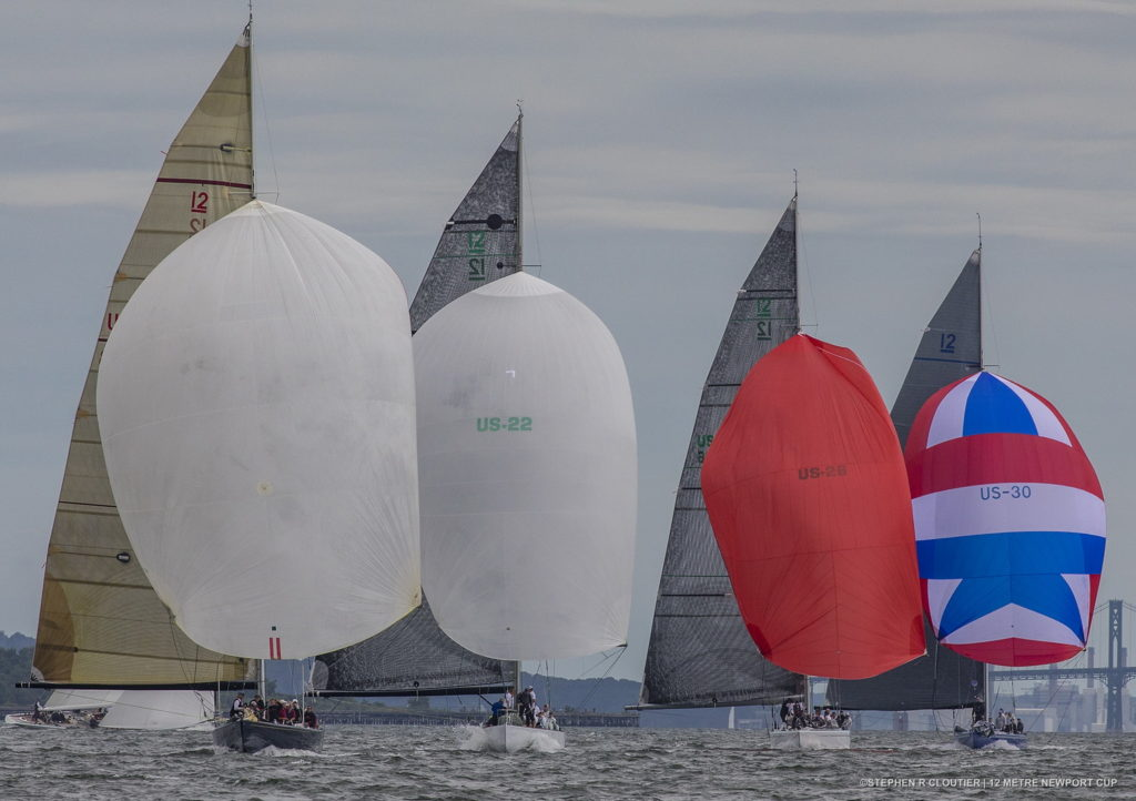 International 12 Metre Association 2017 Newport Trophy Regatta  earlier this year. (Photo © Stephen Cloutier)