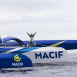 François Gabart Crushes the Around the World Record on Maxi Trimaran MACIF