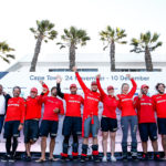 MAPFRE win over Dongfeng and Vestas 11th Hour Racing in Leg 2 of the Volvo Ocean Race