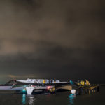 Spindrift Racing Maxi Trimaran Dismasts on way to Start of Jules Verne Trophy Attempt