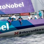 Team AkzoNobel the win in the HGC Volvo Ocean Race In-Port Race Hong Kong