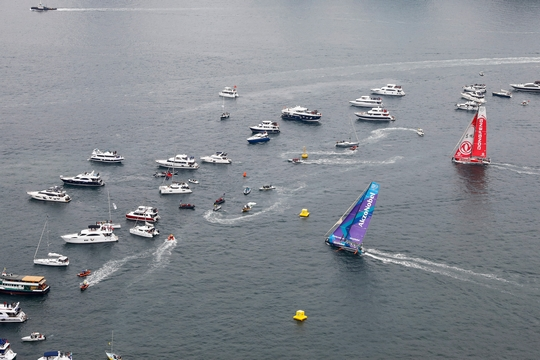 Hong Kong Stopover. HGC In-Port Race Hong Kong. 27 January, 2018.  (Photo © Ainhoa Sanchez/Volvo Ocean Race )