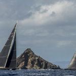 Unbeaten Svea Win Their First Round the Island Race at St Barths Bucket 2018