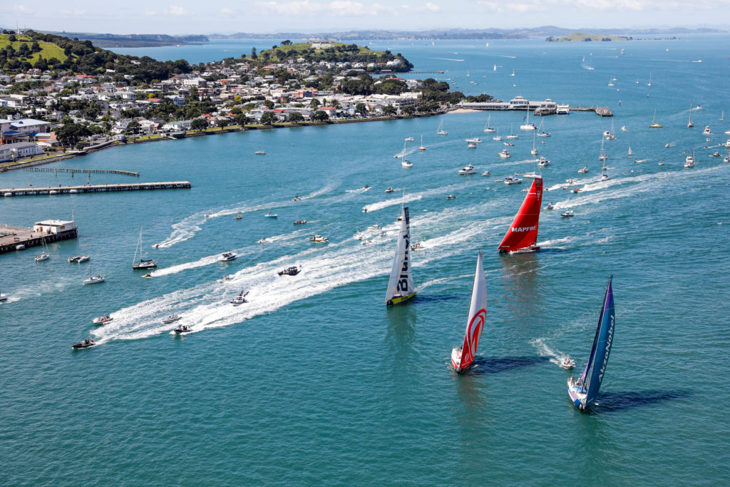 Auckland Stopover. The New Zealand Herald In-Port Race. 10 March, 2018. (photo © Ainhoa Sanchez/Volvo Ocean Race )