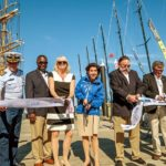 Volvo Ocean Race Boats have all arrived in Newport and Governor Gina Raimondo Officially Opens Race Village