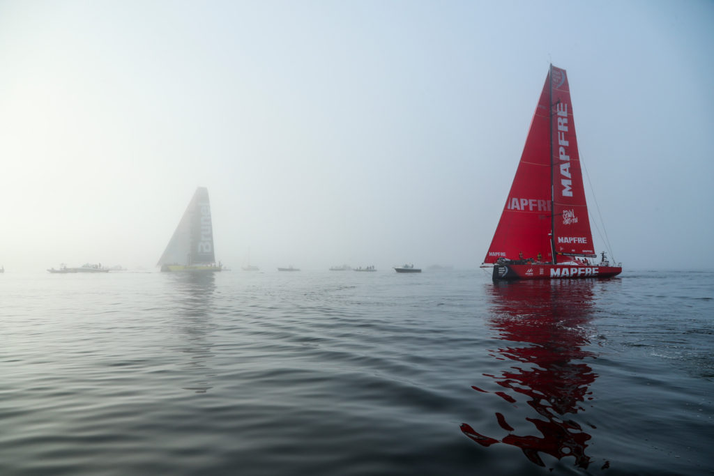 Leg 8 from Itajai to Newport. Arrivals. 08 May (Photo by Jesus Renedo/Volvo Ocean Race)